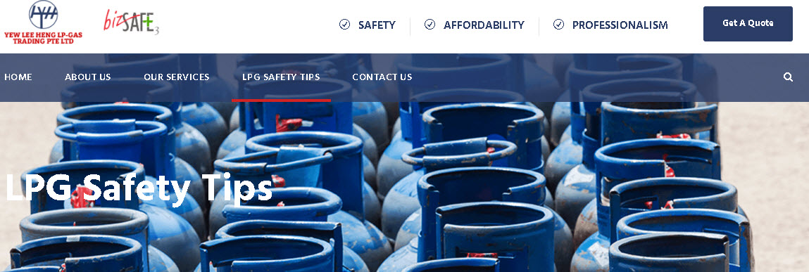 Search for in Singapore LPG Gas Supplier